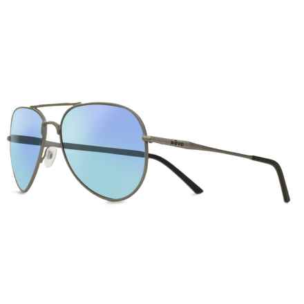 Revo Ellis Sunglasses - Polarized in Gunmetal/Blue Water - Closeouts