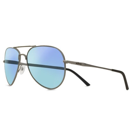 Revo Ellis Sunglasses - Polarized in Gunmetal/Blue Water
