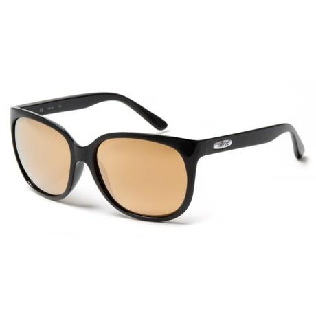 Revo Grand Classic Sunglasses - Polarized in Black/Champagne