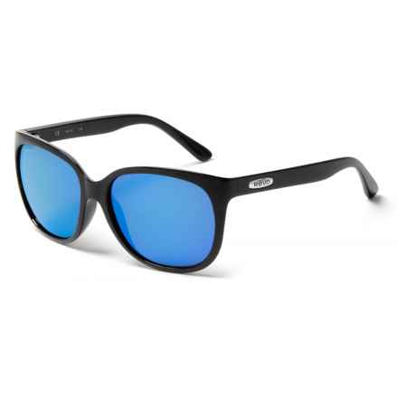 Revo Grand Classic Sunglasses - Polarized in Black/Heritage Blue - Closeouts