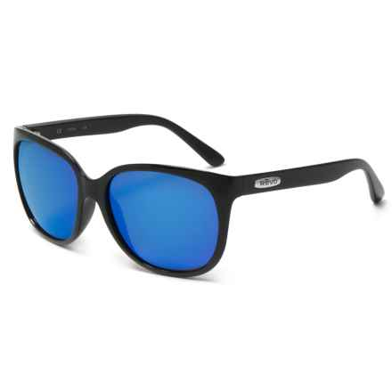 Revo Grand Classic Sunglasses - Polarized in Classic Black/Heritage Blue - Closeouts