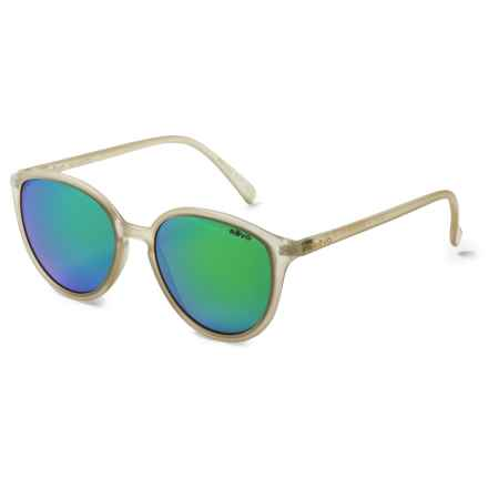 Revo Greison Sunglasses - Polarized, Serilium Polycarbonate Lenses (For Women) in Matte Sand/Green Water - Overstock