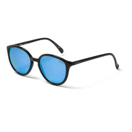 Revo Greison Sunglasses - Serilium Polarized Lenses in Black/Blue Water - Closeouts