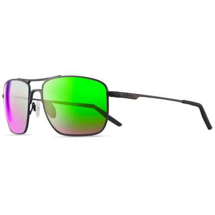 Revo Groundspeed Sunglasses - Polarized in Black/Green Water - Closeouts