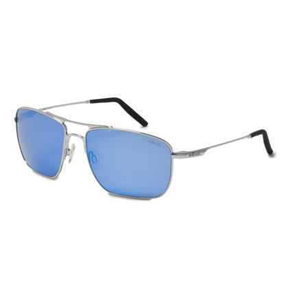 Revo Groundspeed Sunglasses - Polarized in Chrome/Blue Water - Closeouts