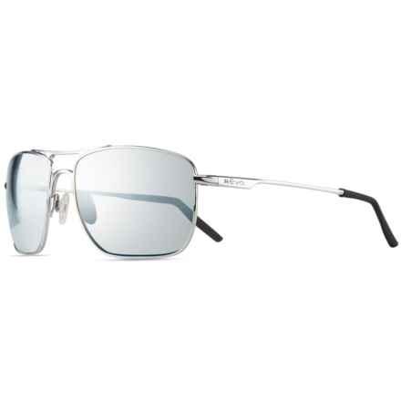 Revo Groundspeed Sunglasses - Polarized in Chrome/Stealth - Closeouts