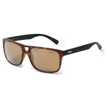Revo Holsby Sunglasses - Polarized in Matte Dark Tortoise/Terra - Closeouts