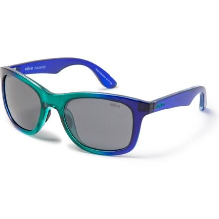 251fda5f409dd Revo Huddie Sunglasses - Polarized in Seabreeze Graphite - Closeouts