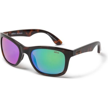 517caff1b4 Revo Huddie Sunglasses - Polarized in Tortoise Green Water