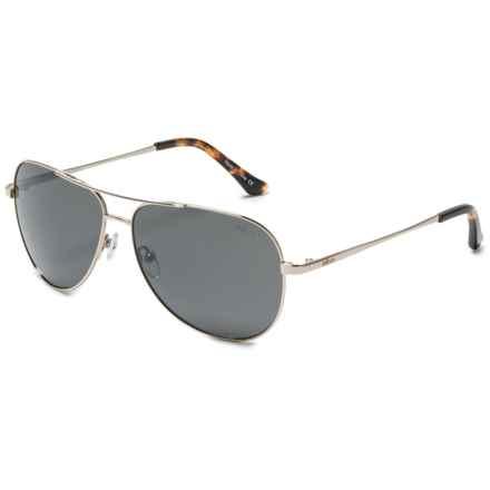 Revo Johnston Sunglasses - Polarized, Serilium Polycarbonate Lenses in Gold/Graphite - Overstock