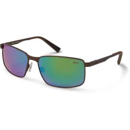 24cedb5bd69b Revo Knox Sunglasses - Polarized (For Men) in Brown/Green Water - Closeouts