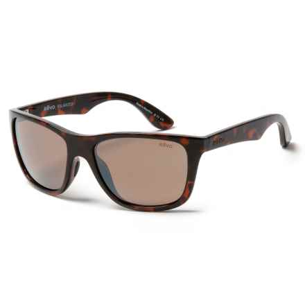 Revo Otis Sunglasses - Polarized in Tortoise/Terra Brown - Closeouts
