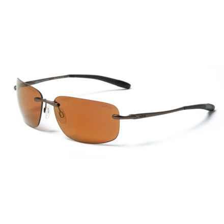 Revo Outlander Sunglasses - Polarized in Brown/Open Road - Closeouts
