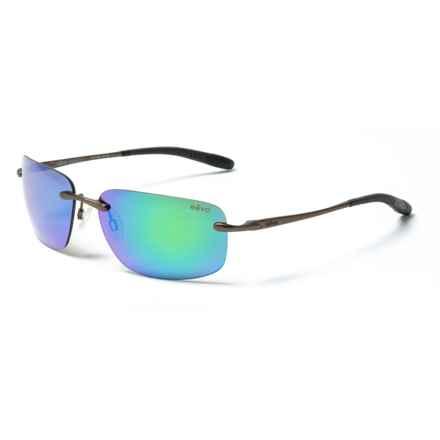 Revo Outlander Sunglasses - Polarized in Rown Green/Water - Closeouts
