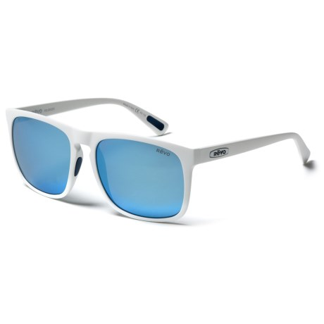 Revo Ryker Sunglasses - Polarized in White/Blue Water