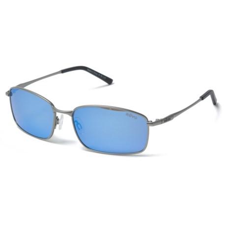 Revo Scout Sunglasses - Polarized in Gunmetal/Blue Water