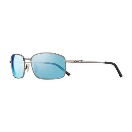 Revo Scout Sunglasses - Polarized in Gunmetal/Bluewater - Overstock
