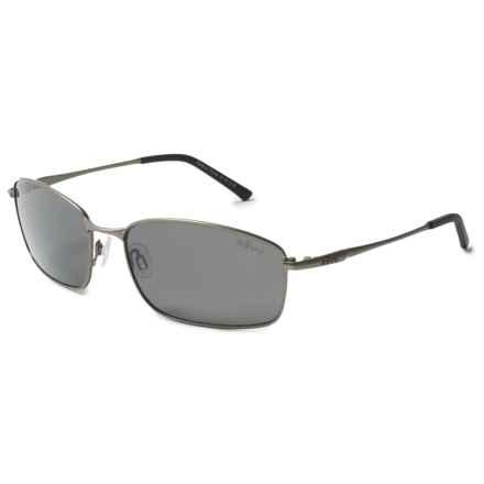 Revo Scout Sunglasses - Polarized in Gunmetal/Graphite - Overstock