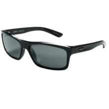 Revo Square Classic Sunglasses - Polarized in Black/Graphite - Closeouts