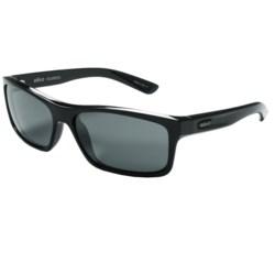 Revo Square Classic Sunglasses - Polarized in Black/Graphite
