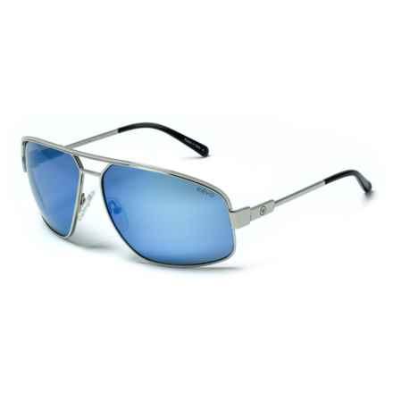 Revo Stargazer Sunglasses - Polarized in Chrome/Blue Water - Overstock