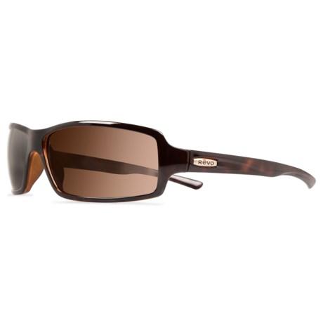 Revo Thrive Sunglasses - Polarized in Tortise/ Terra