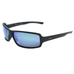 Revo Thrive X Sunglasses - Polarized in Matte Black/ Blue Water