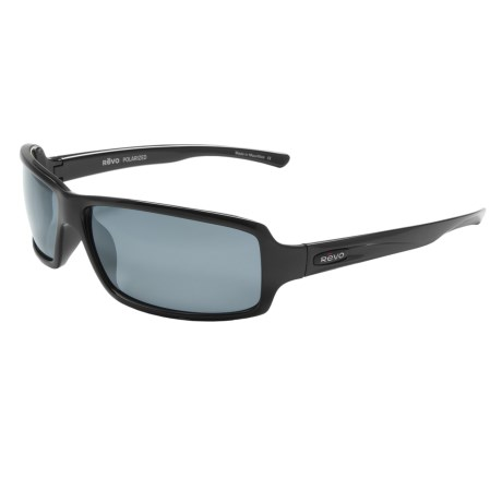 Revo Thrive X Sunglasses - Polarized in Shiny Black/ Graphite