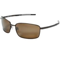 Revo Transport Sunglasses - Polarized in Brown/Terra Brown