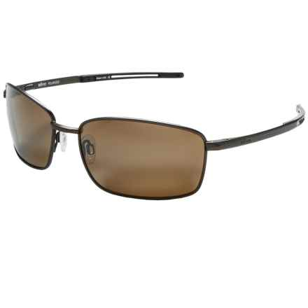 Revo Transport Sunglasses - Polarized in Brown/Terra Brown - Overstock