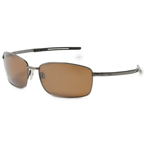 Revo Transport Sunglasses - Polarized in Brown/Terra