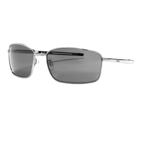 Revo Transport Sunglasses - Polarized in Polished Black/Graphite