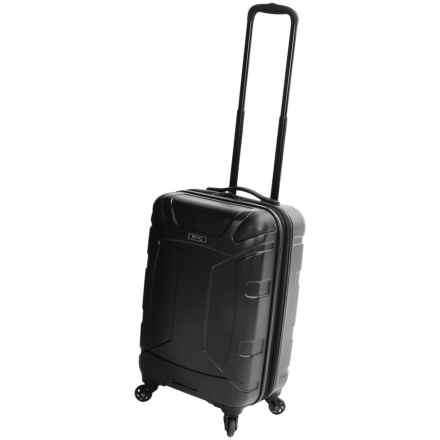 """Revo Trek Spinner Carry-On Spinner Suitcase - 20"""" in Black - Closeouts"""