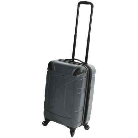 """Revo Trek Spinner Carry-On Spinner Suitcase - 20"""" in Charcoal - Closeouts"""
