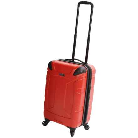 "Revo Trek Spinner Carry-On Spinner Suitcase - 20"" in Orange - Closeouts"