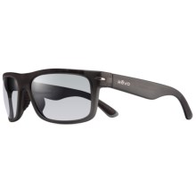 Revo Vanguard Sunglasses - Polarized in Matte Grey Crystal/Graphite - Closeouts