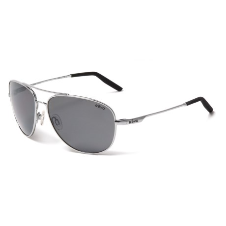 93d34548ce Revo Windspeed Sunglasses - Polarized (For Men and Women) in  Chrome Graphite. Tap to expand