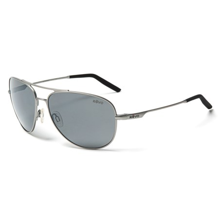 Revo Windspeed Sunglasses - Polarized (FOR MEN AND WOMEN) in Lead/Graphite