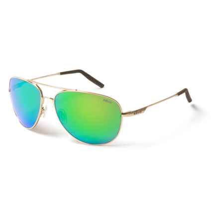 Revo Windspeed Sunglasses - Polarized in Gold/Green Water - Closeouts
