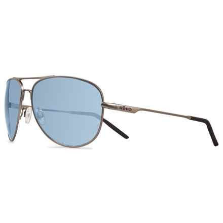 Revo Windspeed Sunglasses - Polarized in Gunmetal/Blue Water - Closeouts