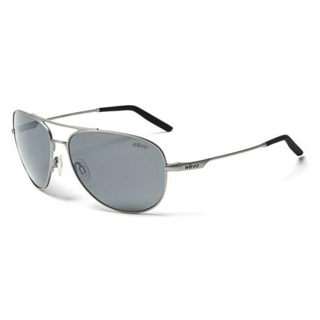 Revo Windspeed Sunglasses - Polarized in Lead/Graphite