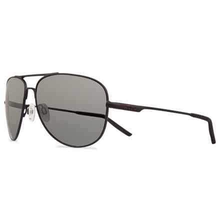 Revo Windspeed Sunglasses - Polarized in Matte Black/Graphite - Closeouts