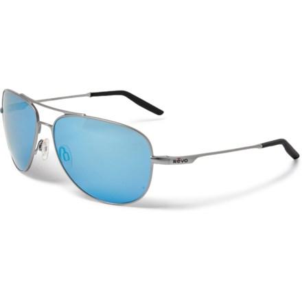 705ce64e8a0a4 Revo Windspeed Sunglasses - Serilium Polarized Lenses (For Men) in  Lead Blue Water