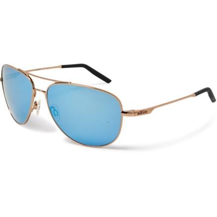 cd182544d Revo Windspeed Sunglasses - Serilium Polarized Lenses (For Men) in Polished  Gold/Blue