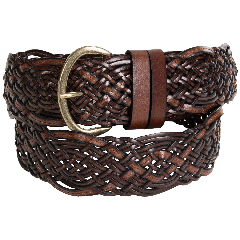 reward braided leather belt for save 58