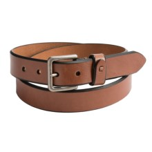 Reward Glazed Bridle Leather Belt (For Men) in Tan - Closeouts
