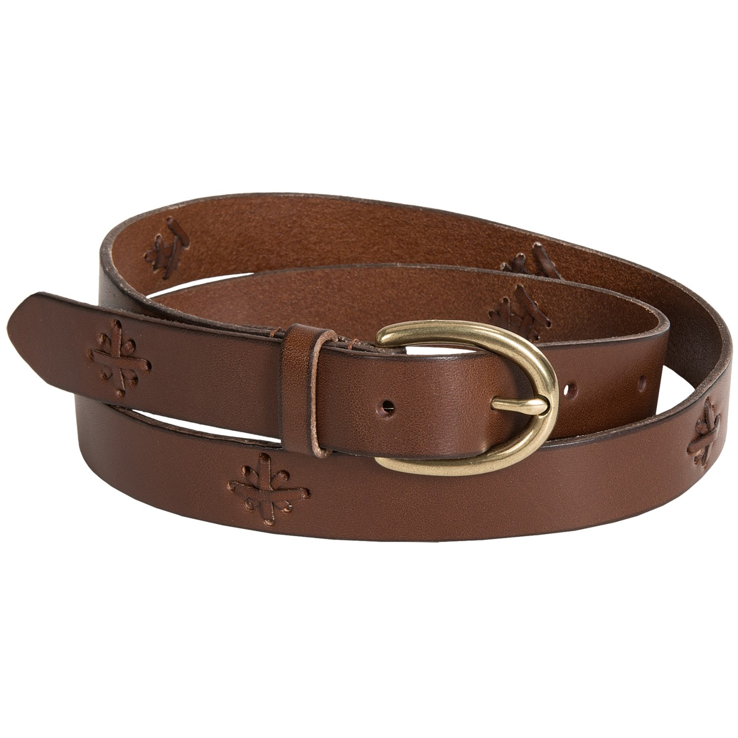 reward laced leather belt for save 44