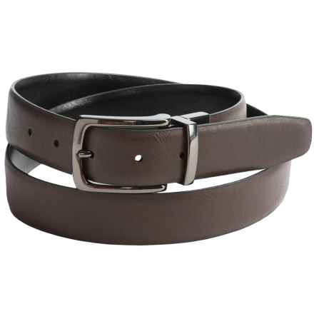 Reward Reversible Belt - Synthetic Leather (For Men) in Black/Brown - Closeouts