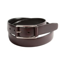 Reward Reversible Leather Buckle Belt (For Men) in Brown/Black - Closeouts