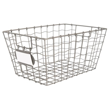 Industrial Wire Basket | Rgi Industrial Wire Basket Large Save 28